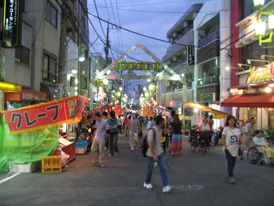 荏原町商店街のお祭り