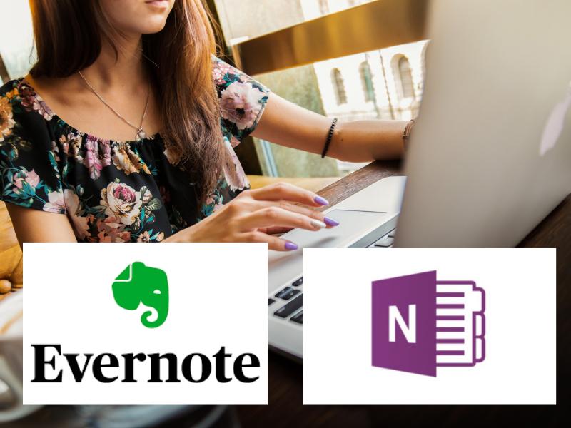 EvernoteとOneNote。どちらを使われてますか。もしくはどう使い分けられていますか。ともに一長一短で競合するツールです