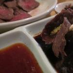 葡萄の牙(大田区大森)はやわらかいランプ肉とLINEも使うネット戦略奏功居酒屋が昼のランチ開始であっという間に満員