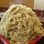 くろむぎ堂(池上)の大田区名物デカ盛りの『大盛り蕎麦』