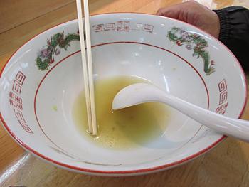 中華そば完食