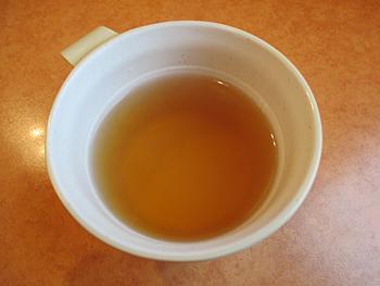 海藻茶にコンソメが入ったような味