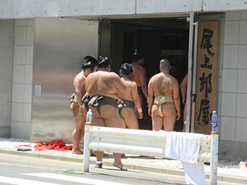 大学の相撲部