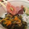 目利きの銀次(大田区池上)は『漬けマグロ二種丼』『鮪の磯丼』など池上駅前にある昼はランチ、終日飲み屋さんの店