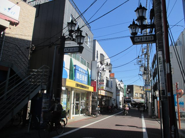 水門通り商店街