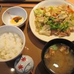 やよい軒蒲田店(大田区)、コスパ抜群の肉野菜炒め定食