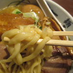 麺屋武蔵蒲田店、濃厚武蔵つけ麺1キロとダブルスープらー麺
