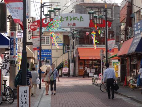 武蔵新田駅前商店街