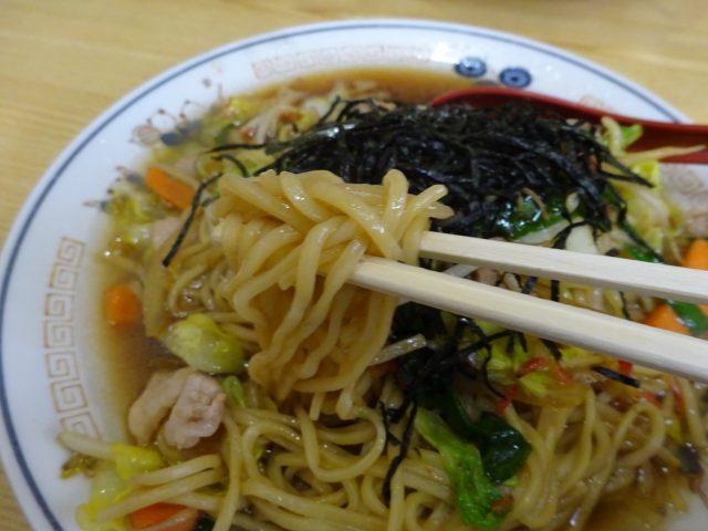 野口軒という大田区大森東の中華料理店はオリジナルメニューである東京都中華料理組合公認の東京焼きラーメンが昭和の味
