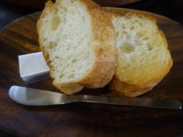 ステーキハウス・バッファローのパン