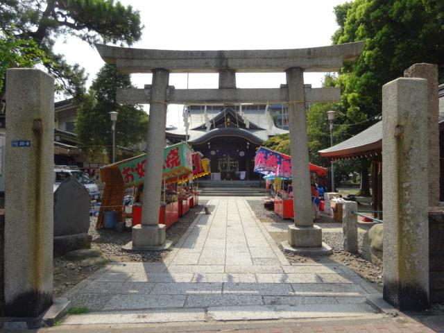 磐井神社(大田区大森北)は子取りの狛犬と磐井の井戸と笠島弁天社などの見どころがあり東海七福神の弁財天が祀られる