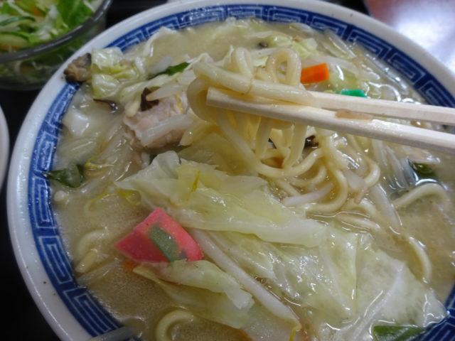 四川太宴飯店のちゃんぽん