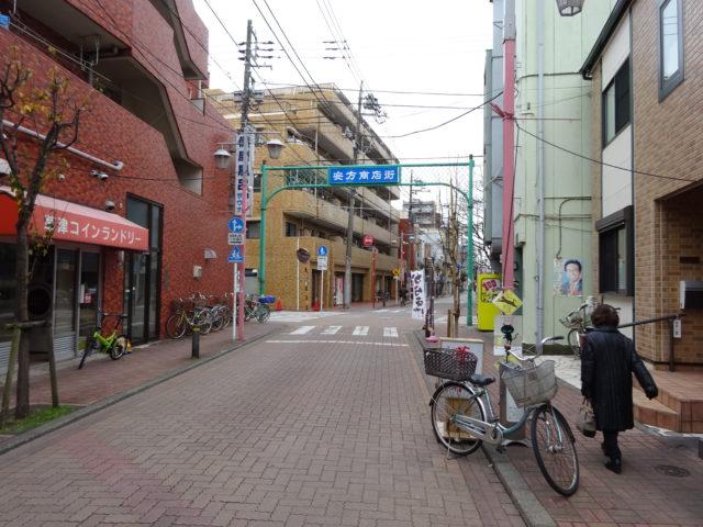安方商店街