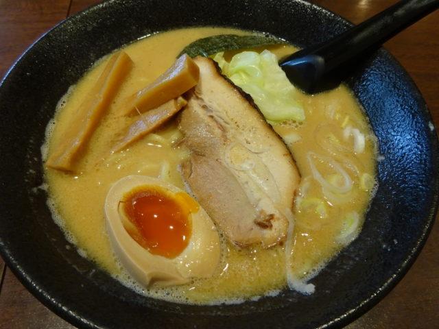 麺喰屋Senmiの胡麻らー麺