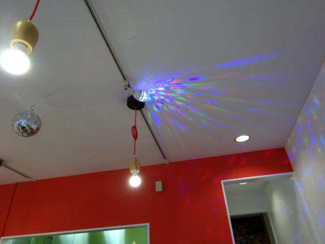 らーめん食堂の天井