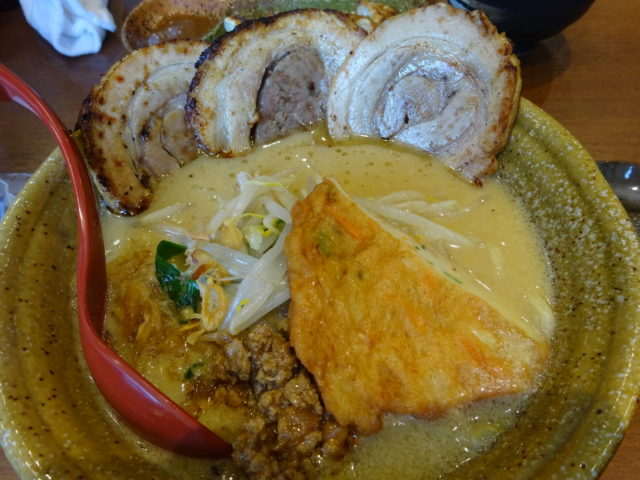 九州麦味噌味噌漬け炙りチャーシュー麺