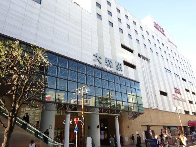 大森鷲神社は、JR京浜東北線(東海道線)大森駅東口を下車