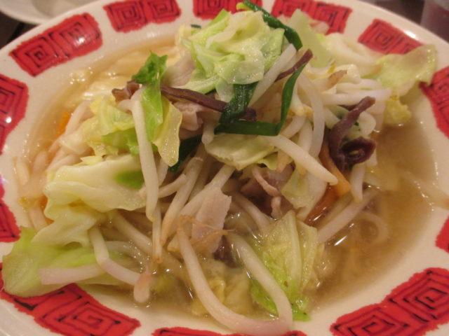 国産野菜たっぷりタンメン