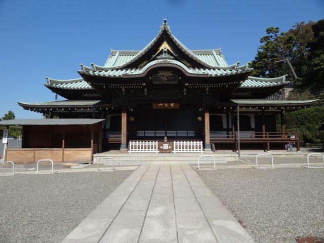 大坊本行寺本堂