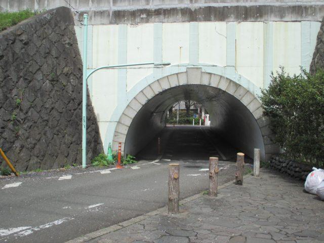 大田区内最古のトンネル