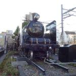 入新井西児童交通公園(大田区大森北)は自転車や三輪車用トラックがあり貴婦人(C-57-66)が1日2回汽笛を鳴らし動輪