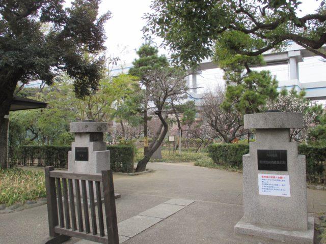 国道15号線(第一京浜国道)に面している入口