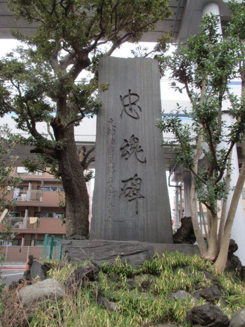 戦没記念碑の石碑で『忠魂碑』
