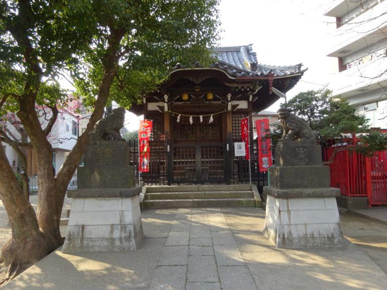 大田区矢口の氷川神社