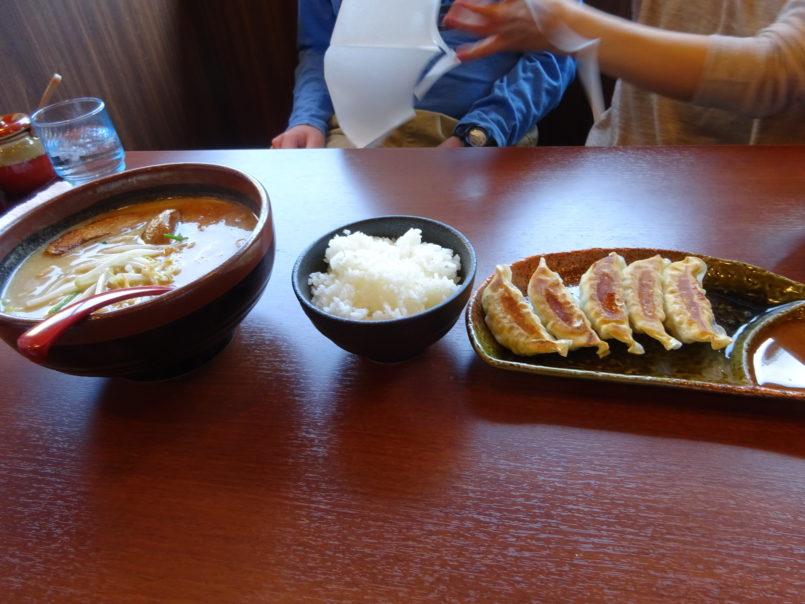 麺場田所商店池上店の北海道味噌らーめん