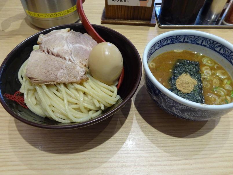三田製麺所蒲田東口店の味付玉子チャーシューランチ