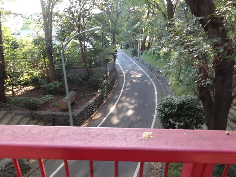 亀甲山古墳と、宝来山古墳をつなぐのが虹橋