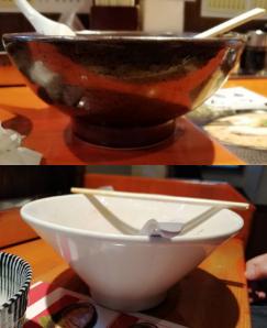 北海道らーめん楓雑色店の器