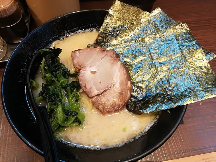 横浜家系ラーメン武の塩豚骨