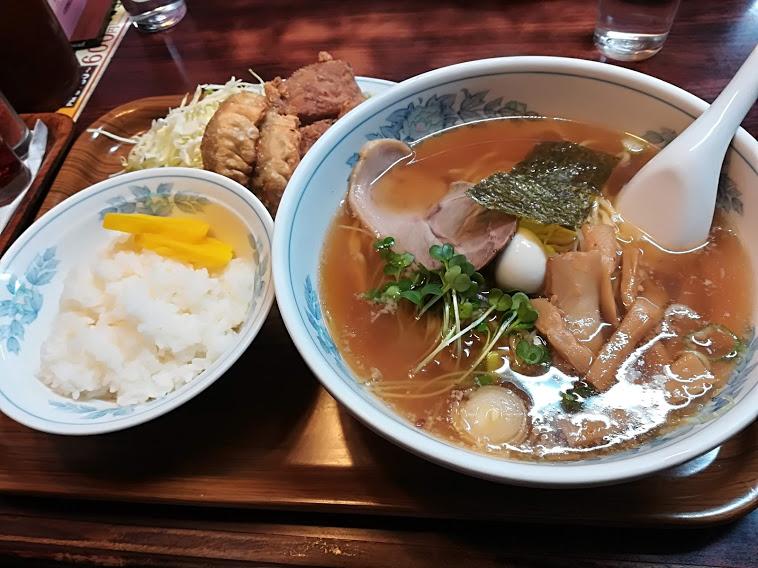 ラーメン日本一のラーメンセット